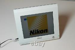 Nikon Digital Sight DS-L2 Stand-Alone Microscope Camera Controller LCD Monitor