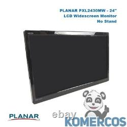 PLANAR PXL2430MW, 24 LCD Touchscreen Monitor, No Stand. A