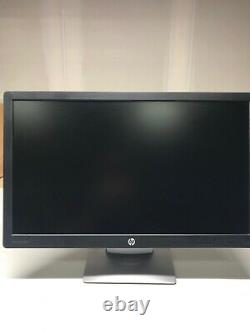 Pair of HP EliteDisplay E232 23 LCD Full HD Monitor Display with Stand