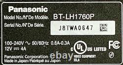 Panasonic 17 SDI Production Monitor with Custom Storm Case, Sun Hood, and Stand