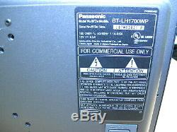 Panasonic BT-1700WP 17 Widescreen LCD Broadcast Monitor with Stand NTSC/PAL