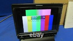 Panasonic BT-LH910 9 LCD Field Monitor with 170 hrs, stand Demo