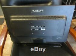 Planar PXL2430MW 24 LED LCD HDMI TouchScreen Monitor NO STAND