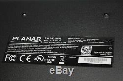Planar PXL2430MW 24 LED LCD HDMI TouchScreen Monitor NO STAND GRADE B