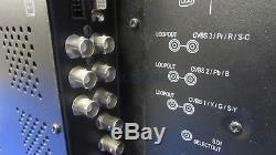 Plura PBM-120X Advanced Multi-Format HD 20 LCD Digital Monitor with Stand