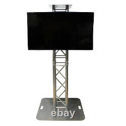 Prox 32 to 80 LCD TV/MONITOR MOUNT FOR 12 TRUSS OR SPEAKER STANDS AV DJ