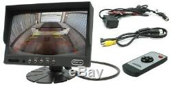 Rostra 2508220-IR Stand Alone Heavy Duty 7 Monitor & Rear Backup Camera System
