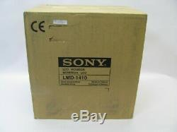SONY LMD-1410 14 Pro Series LCD Video Monitor & Stand New Unused