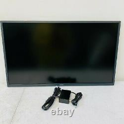 Samsung 32 UJ59 Series LU32J590UQNXZA 4K UHD FreeSync Monitor NO STAND READ