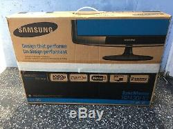 Samsung B2430HD 24 1920 x 1080 Widescreen LCD HDMI VGA USB Monitor With Stand