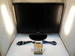 Samsung T260HD LCD Monitor withHDMI Cable, VGA Cable, Power Cable, Stand