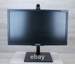 Samsung VC240 24 Video Conferencing LCD FHD Monitor 1920x1080 with stand Grade B