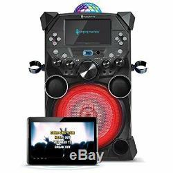 Singing Machine SDL9039 Fiesta Plus Hi-Def Karaoke System with LCD Monitor