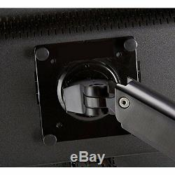 Single LCD Monitor Display Holder Mounting Arm Adjustable Computer Accessories