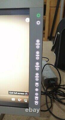 Sony 24 LMD LCD Flat Panel Monitor With Power Supply, Stand, Cover and Cables