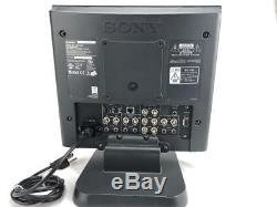 Sony LMD-1420 14 Professional Series Broadcast Studio LCD Monitor With Stand