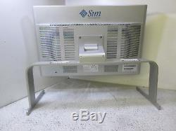 Sun Microsystems 24.1 LCD V4 Monitor And Stand 365-1434-01 T9-a10
