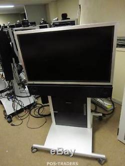 TANDBERG FS-L4201C 42 HD TFT LCD Monitor INCL STAND & TANDBERG TTC7-09 + CABLES