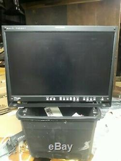 TV Logic LVM-240W multi-format 24 1920x1080 full HD studio Monitor With a Stand