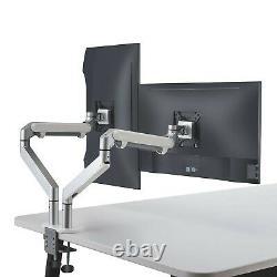 ThingyClub Dual Gas Spring LCD Arm Desk VESA Bracket & Monitor Arm Stand for