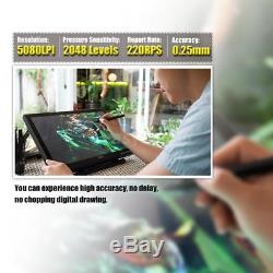 Ugee 1910B Graphics Drawing Tablet TFT LCD Screen Monitor Display