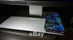 Used Dell Ultrasharp U2417HJ 23.8 LCD Monitor with Wireless Charging Stand